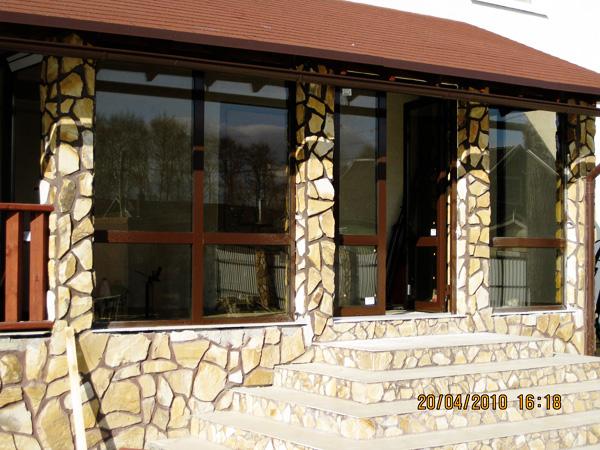 Алюминиевые конструкции - снаружи