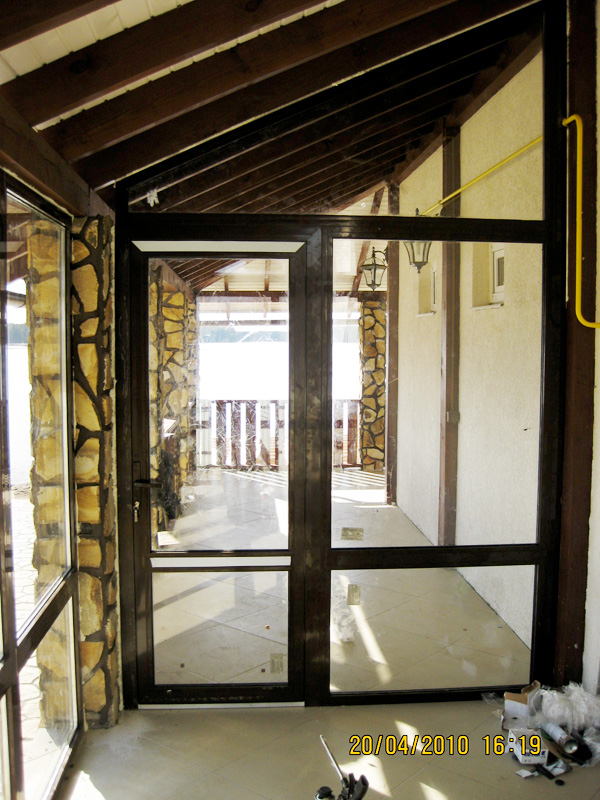 Алюминиевые конструкции - внутри